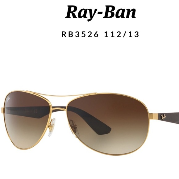 59b652ba733 RAY-BAN sunglasses with matte gold frame. M 5b3a33f0c89e1d14c2c8c3d3